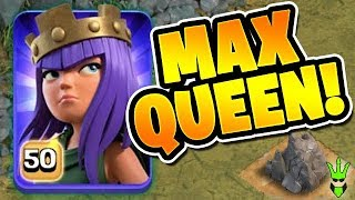 LEVEL 50 QUEEN! FINALLY MAXED! - TH11 QW Miner Farming - Clash of Clans - Road to Max 11!