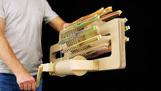 How to Build Amazing Rubber Band Machine Gun