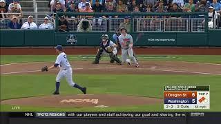 Oregon State Baseball Game Highlights: 6/18/18 vs. Washington