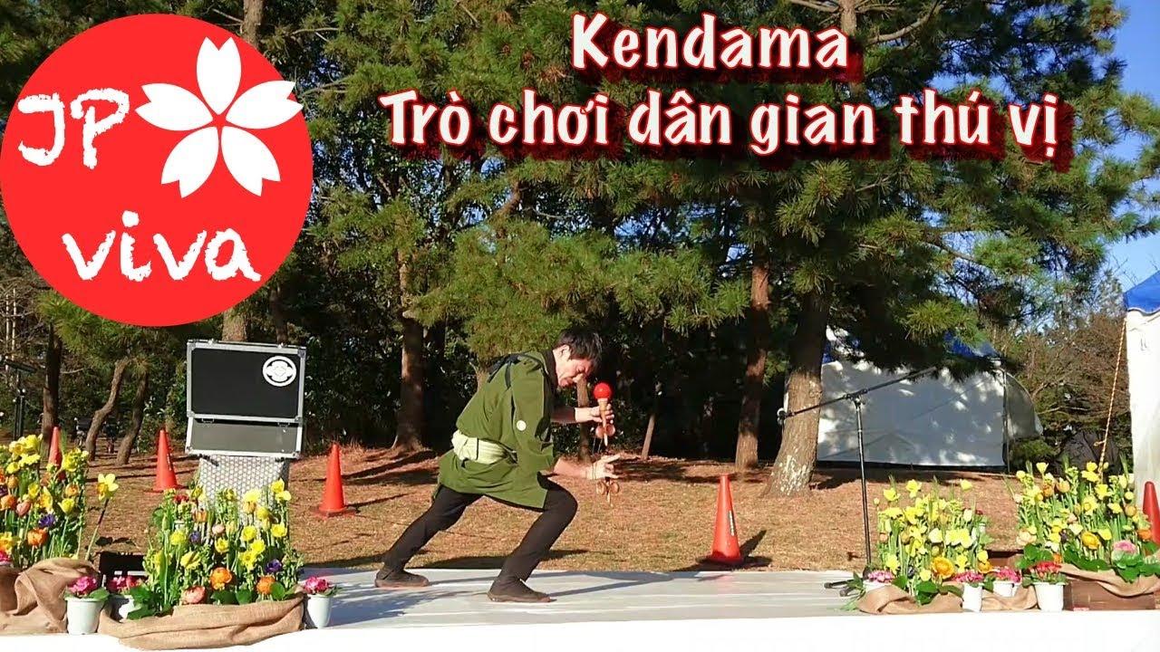 [JP viva] Trò chơi dân gian Nhật Bản - Kendama * Japanese traditional game nhung việt nam nhat ban