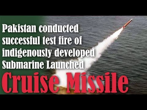 Video: Pakistan Test Fired Another Babur Submarine Launched Cruise
