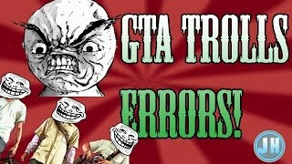 GTA 5 TROLLING! ERROR WITH STORAGE DEVICE AND RESTARTING!!