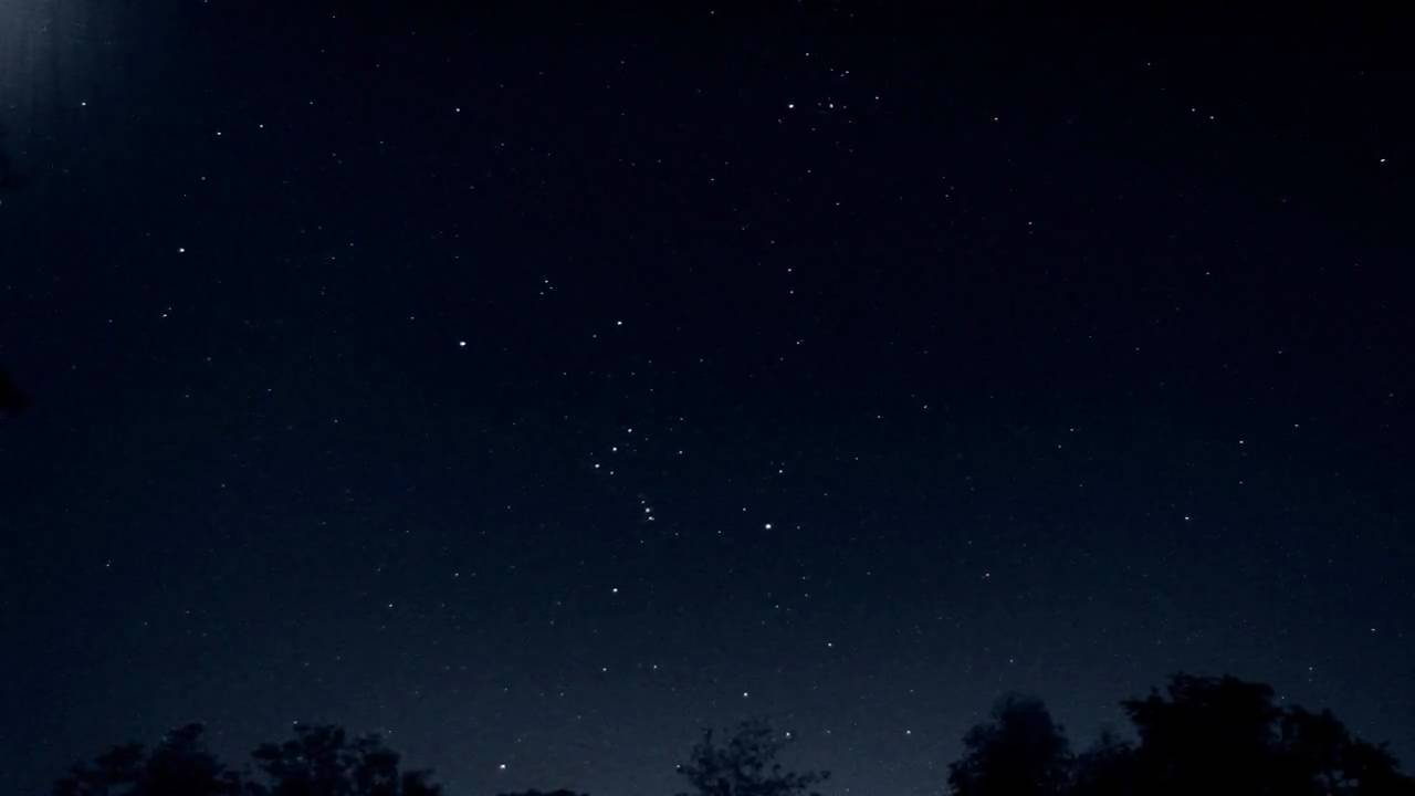 star spin ene night sky time lapse in ambient light v06959 youtube