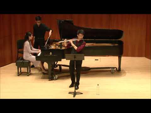 Franck Sonata for Violin and Piano in A Major (Arranged for flute) - Chris Wong