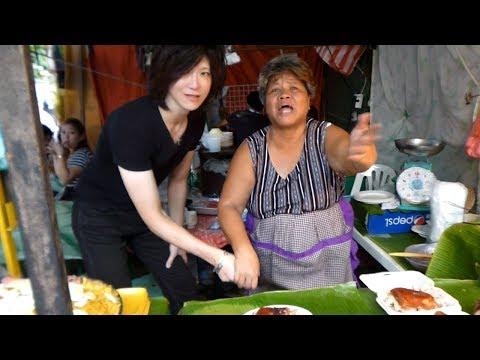 マニラの女の子とデートバクラランマーケットPhilippines Travel to Manila
