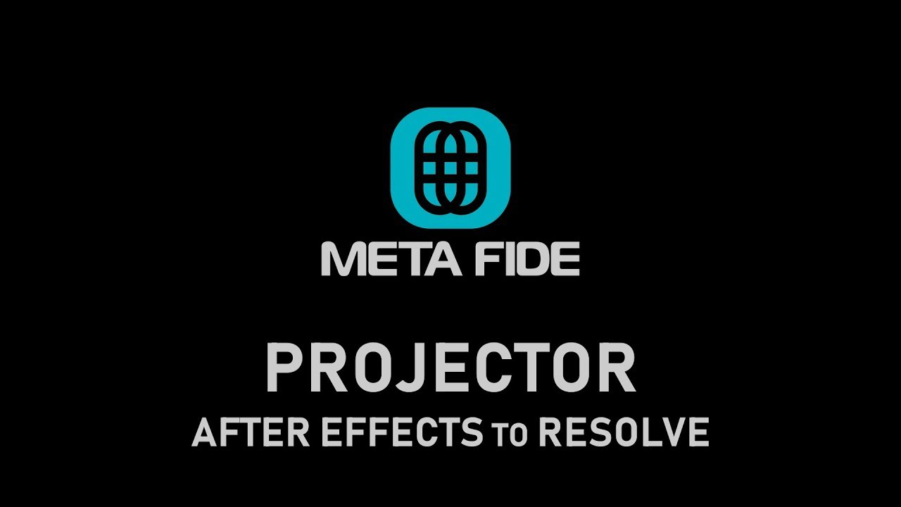 After Effects to DaVinci Resolve