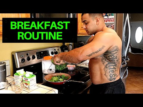 MY MORNING BREAKFAST ROUTINE (HEALTHY TIPS & TRICKS)