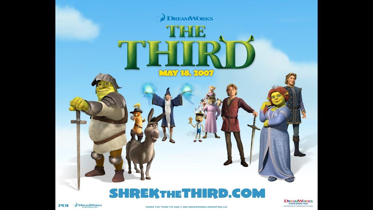 Animation movies 2015 - Kids Movies █ Shrek 3 Third   █ Animation Movies for Kids Full Siro