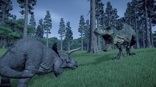 Hell Creek-Hell on earth-Jurassic World Evolution Documentary