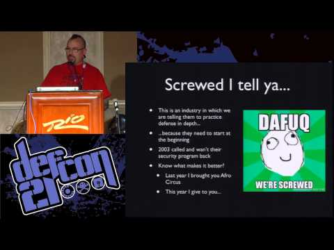DEF CON 21 - Panel - DEF CON Comedy Jam Part VI, Return of the Fail