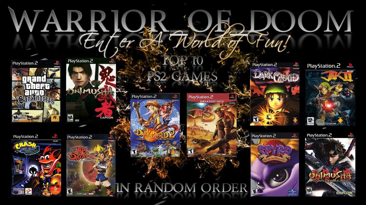 My Top 10 PS2 Games   In Random Order   Playstation 2 ...