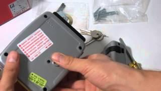 видео Замок накладной электромеханический CISA 11.610.1 (дверь правая., открывается внутрь)