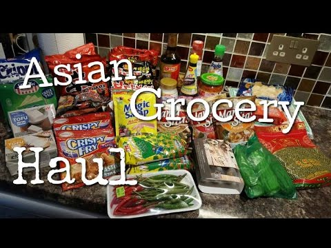 ANOTHER ASIAN GROCERY HAUL    UKHAUL    LOVELY STEF