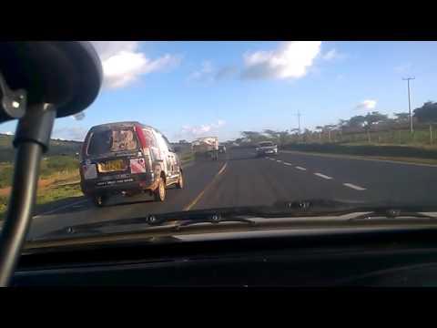 Kenyan Mombasa Road Daytime (Machakos to Emali)