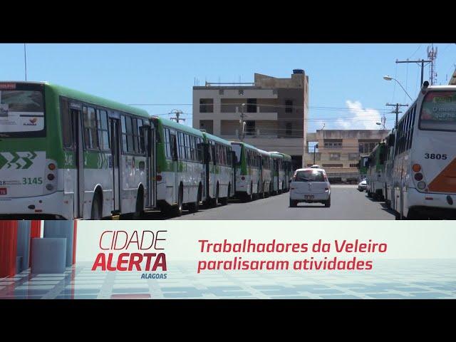 Trabalhadores da Veleiro paralisaram atividades para cobrar salários