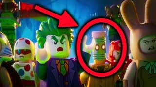 LEGO Batman Movie Main Trailer - ALL Secrets and Easter Eggs!