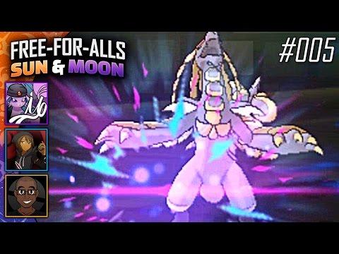 Pokémon Sun & Moon FFAs #005 Feat. TheHeatedMo, NumbNexus & JayYTGamer!