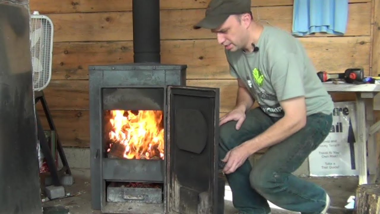 Installing A New Wood Burning Stove Youtube