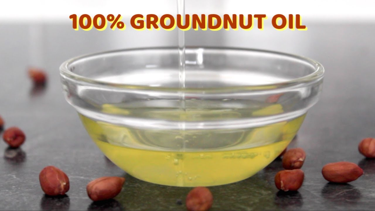 How to Make 100% Groundnut oil • Pure Peanut Oil