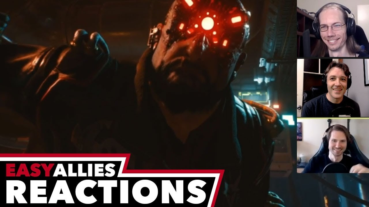 Cyberpunk 2077 Sep Night City Wire - Easy Allies Reactions