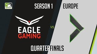 Eagle Gaming vs Team Gigantti (Part 1)   OWC 2018 Season 1: Europe [Quarterfinals]