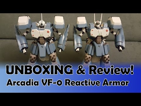 Unboxing & Review! Arcadia VF-0 Reactive Armor