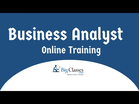 Business Analyst Online Training | Business Analyst Training for Beginners