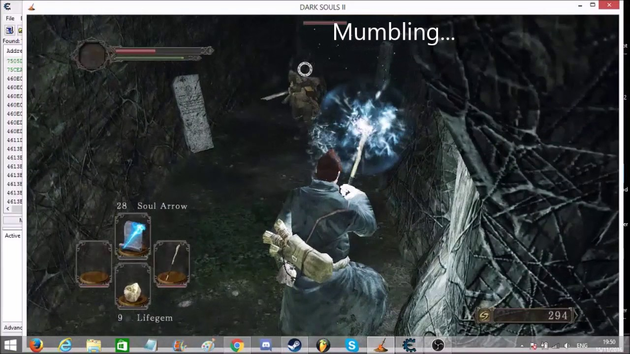 Dark Souls 2 : How to use Cheat Engine 6 6 (2016)