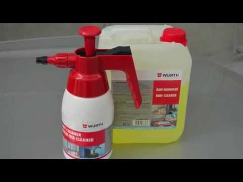 Wurth Bmf Cleaner Demonstration Youtube