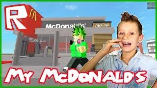 Mon nouveau restaurant McDonald's / Roblox