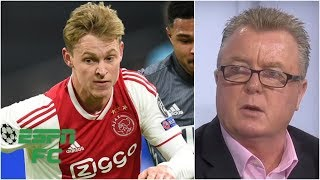 Barcelona signs Frenkie de Jong from Ajax: 'He's that good' | Champions League