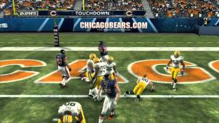 Madden NFL 12 from E3: RAW unedited Gameplay Green Bay @ Chicago