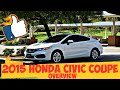 2015 Civic LX Coupe overview