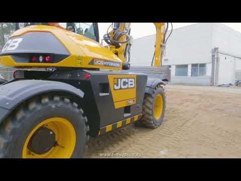 Колёсный экскаватор JCB Hydradig 110W