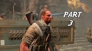 Sniper Elite 3 Gameplay Walkthrough Part 3 - They call it Halfaya Pass (PC)