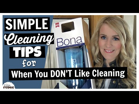 CLEANING MOTIVATION for When You Don't Like to Clean