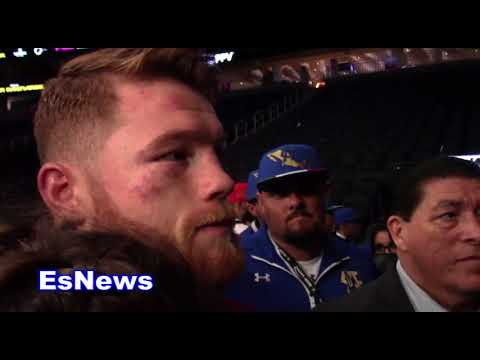 Canelo On Fighting Like Floyd Mayweather - EsNews Boxing