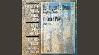 Dettingen Te Deum: Bass Solo: Vouchsafe, O Lord!