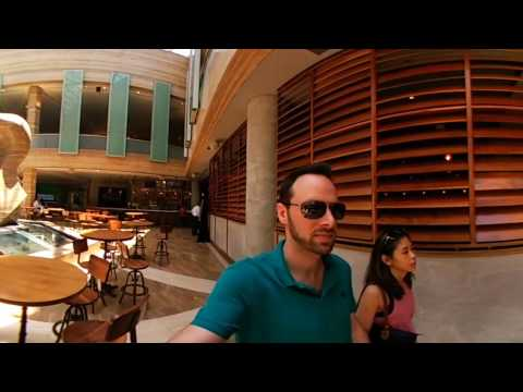Intercontinental Hotel Miami Brickell Ground Floor Lobby Walkthrough 360