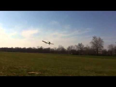 Grumman Yankee fly by