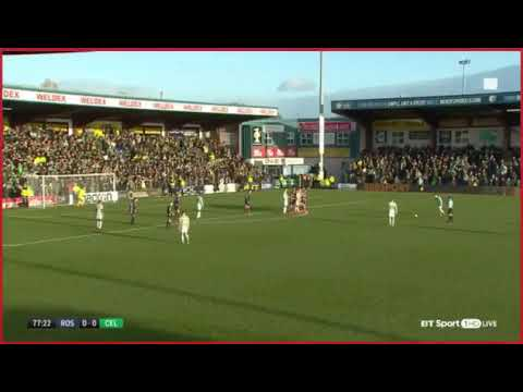 LEIGH GRIFFITHS AMAZING FREEKICK Celtic 1-0 Ross County and 18/11/17