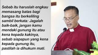 Ibadah Cawisan Kedua Perjamuan Kudus Oikumene 30 September 2020, GKJW Jemaat Simomulyo Surabaya