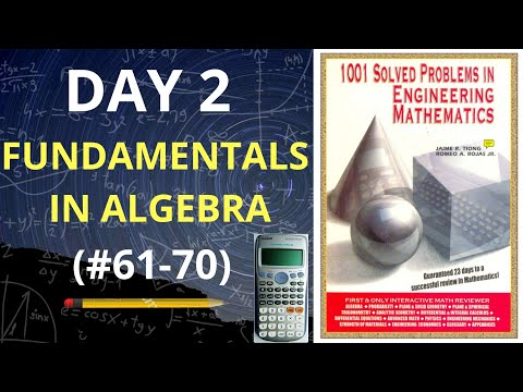 1001 Solved Problems in Engineering Mathematics| Day 2 (problems 61-70) thumbnail