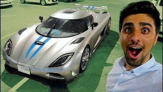 My Friend's $2,000,000 KOENIGSEGG !!!
