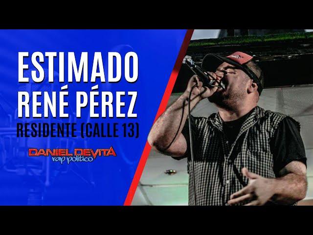 Estimado RENÉ PÉREZ [Residente Calle 13] - DANIEL DEVITA (Doble D)