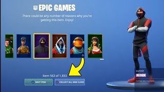 "HOW TO RECEIVE ALL THE OBJECTS ""FREE"" ON FORTNITE!! 