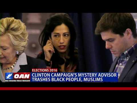 WikiLeaks: Clinton Campaign's Mystery Advisor Trashes Black People, Muslims
