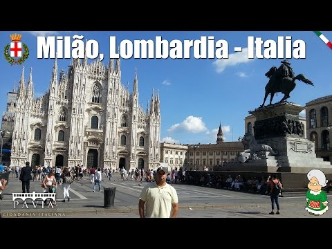 #12 Vlog do Angelo Persona - Milão, Lombardia - Italia