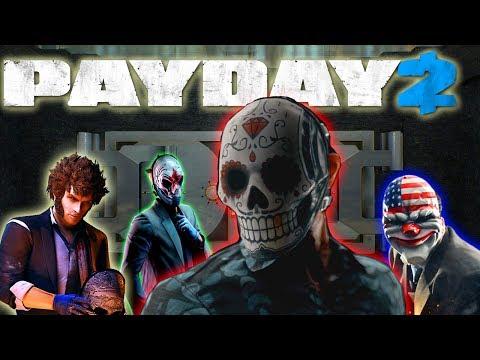 PAYDAY 2 - FIRST WORLD BANK CON GENTE ONLINE (GAMEPLAY EN ESPAÑOL)
