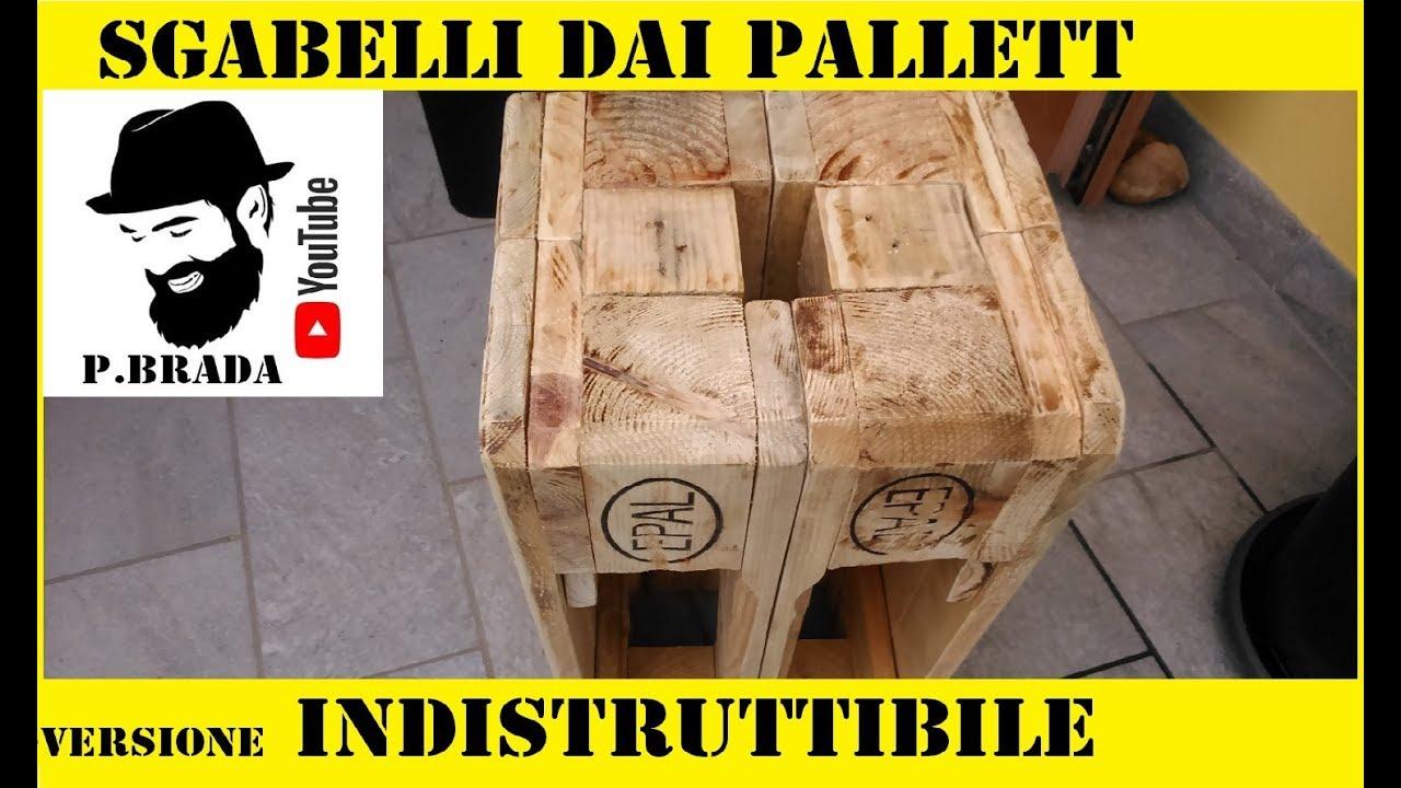 Sgabelli dai pallett versione indistruttibile by paolo brada diy
